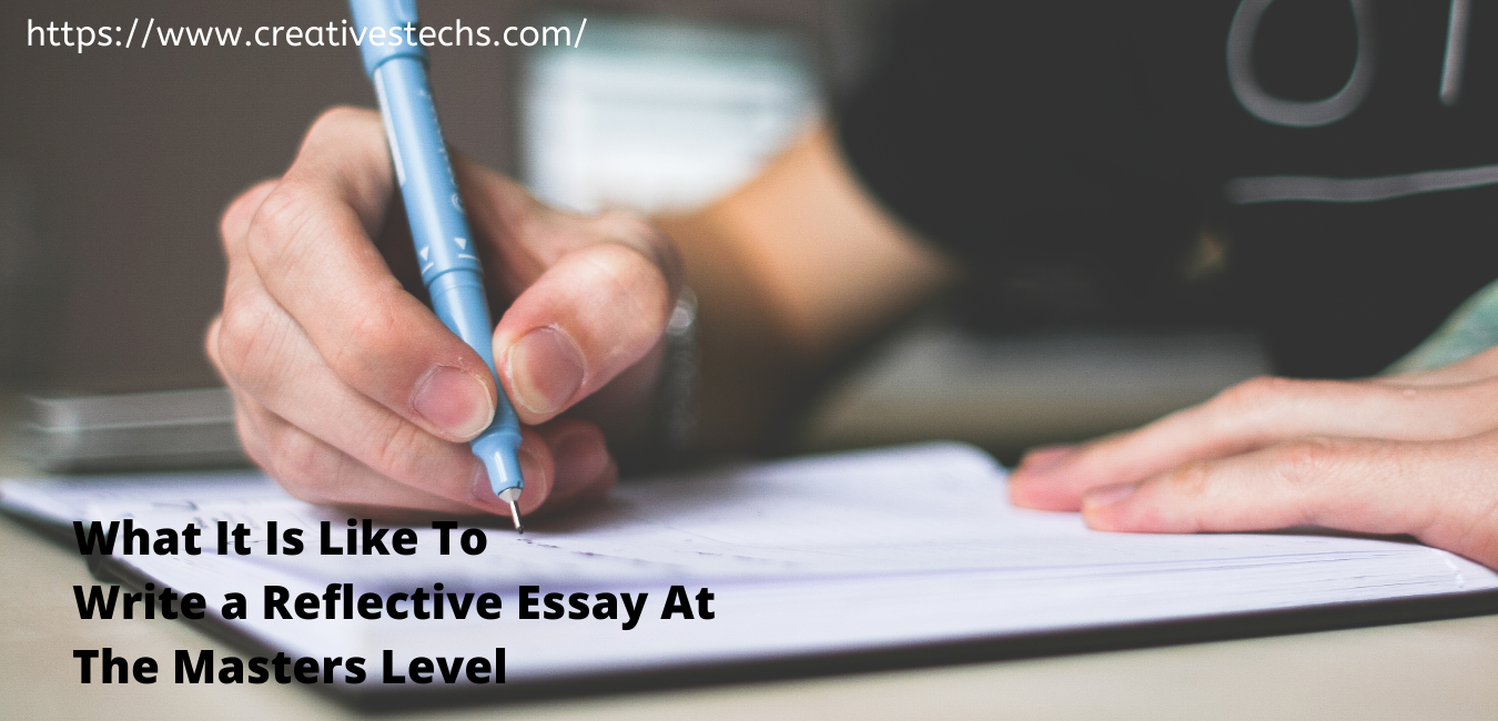 Writing an essay at masters level